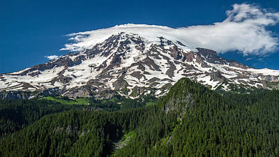 Photograph - Mount Rainier Summertime by Pierre Leclerc Photography