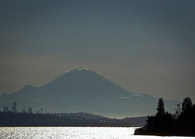 Photograph - Mount Rainier This Morning by Ronda Broatch