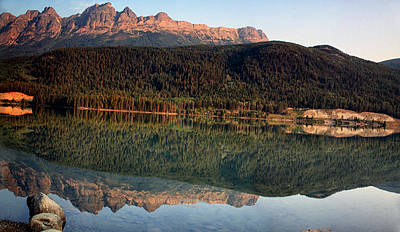 Chateau Digital Art - Mount Robson Provincial Park by Georgia Fowler