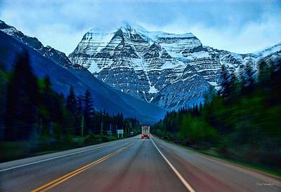 Photograph - Mount Robson Straight Ahead by Dyle   Warren