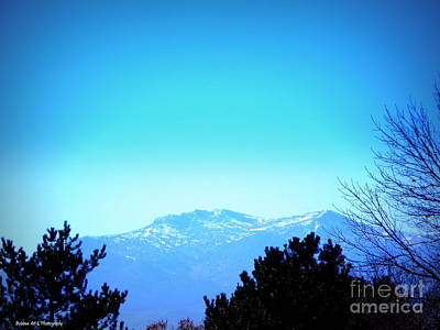 Photograph - Mount Rose Of The Sierras by Bobbee Rickard