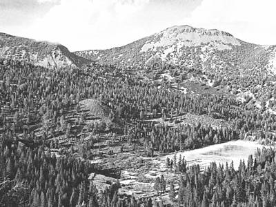 Photograph - Mount Rose Sierra Nevada by Frank Wilson