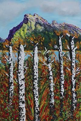 Mount Rundle Banff Alberta Art Print by Joyce Sherwin