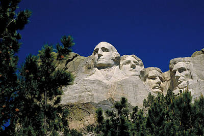 Photograph - Mount Rushmore by Bruce Roberts