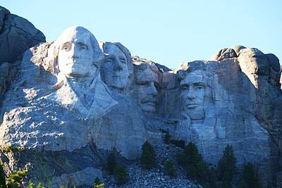 Photograph - Mount Rushmore by Catherine Link