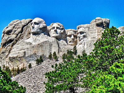 Photograph - Mount Rushmore by Dan Miller