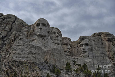 Photograph - Mount Rushmore by David Arment