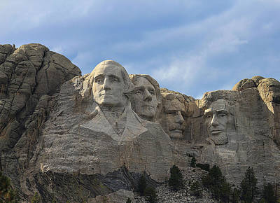 Photograph - Mount Rushmore by Kathleen Scanlan
