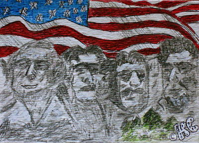 Painting - Mount Rushmore by Kathy Marrs Chandler