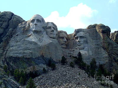 Politicians Royalty-Free and Rights-Managed Images - Mount Rushmore National Memorial is A Strong Foundation by Reid Callaway