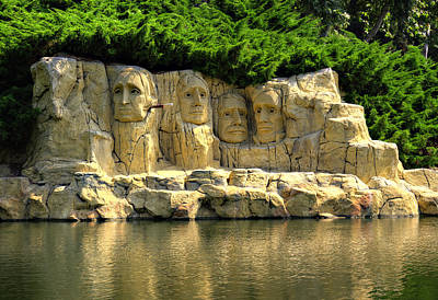 Politicians Royalty-Free and Rights-Managed Images - Mount Rushmore by Ricky Barnard