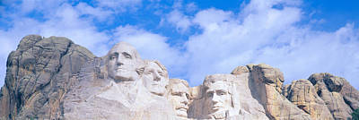 Craggy Photograph - Mount Rushmore, South Dakota by Panoramic Images