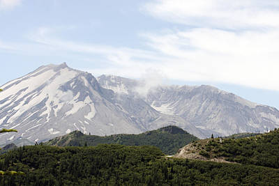 Photograph - Mount Saint Helens - 0022 by S and S Photo