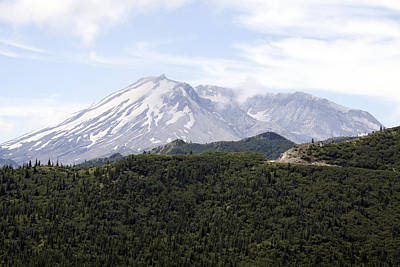 Photograph - Mount Saint Helens - 0024 by S and S Photo