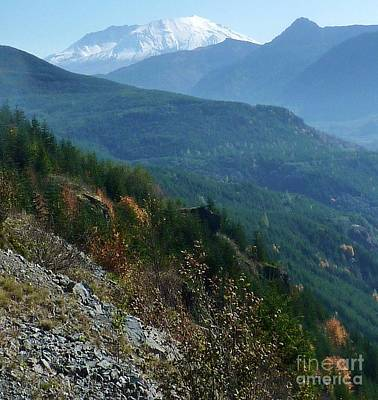 Photograph - Mount Saint Helens Majesty by Susan Garren