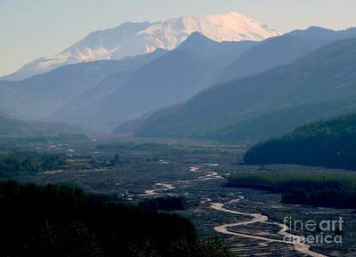 Photograph - Mount Saint Helens Valley  by Susan Garren