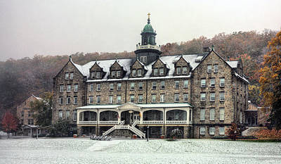 Photograph - Mount Saint Mary's University by JC Findley