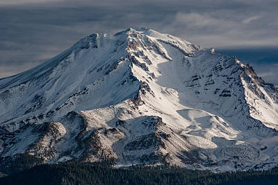 Mount Shasta Photograph - Mount Shasta Close-up by Greg Nyquist