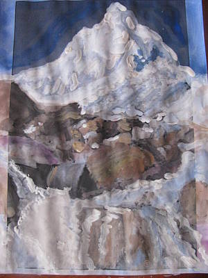 Painting - Mount Shivling by Vikram Singh