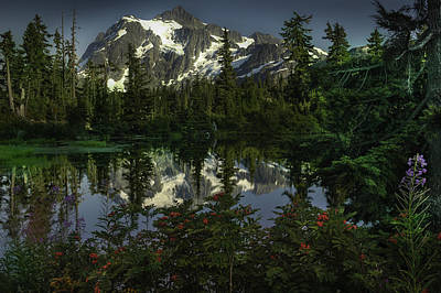Photograph - Mount Shuksan 2 by Jean-Jacques Thebault