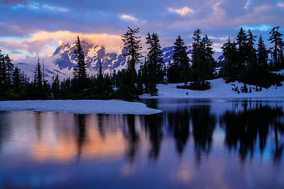 Photograph - Mount Shuksan by Dustin  LeFevre