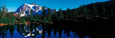 Mount Shuksan North Cascades National Art Print