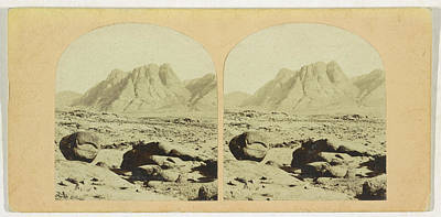 Fine Art Er Photograph - Mount Sinai, Horeb With The Convent by Quint Lox