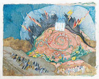 Jerusalem Painting - Mount Sinai by Michoel Muchnik