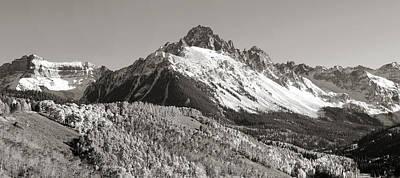 Mount Sneffels In Colorado Art Print by Brett Pfister