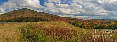 Photograph - Mount Snow Panorama by Charles Kozierok