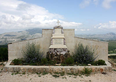 Photograph - Mount Srd Memorial by David Nicholls