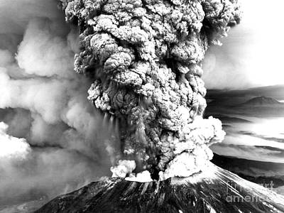 Mount St Helens Eruption Print by Usgs