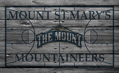 Marys Photograph - Mount St Marys Mountaineers by Joe Hamilton