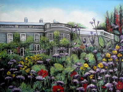 Mount Stewart House In Ireland Art Print by Melinda Saminski