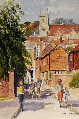 Painting - Mount Street by Beatrice Cloake