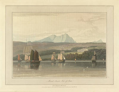 Mount Stuart On The Isle Of Bute Art Print by British Library