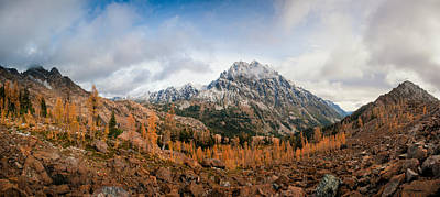 Photograph - Mount Stuart Panorama by Brian Bonham