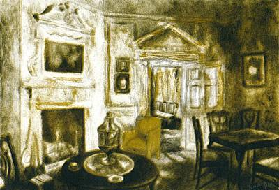 Drawing - Mount Vernon Ambiance by Kendall Kessler