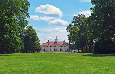 Photograph - Mount Vernon Estate by Shanna Hyatt