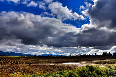 Barn Photograph - Mount Vernon Farmland - Washington State by David Patterson