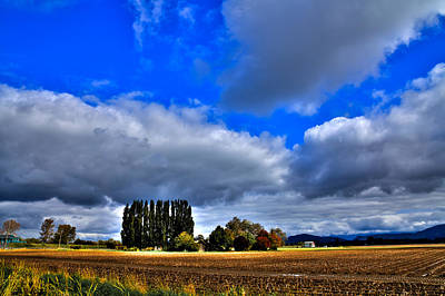Plowed Fields Photograph - Mount Vernon In The Fall by David Patterson