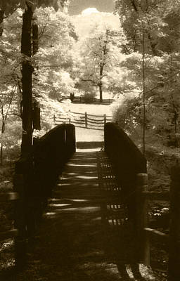 Sean Rights Managed Images - Mount Vernon Plantation Bridge Royalty-Free Image by Linda Ryan