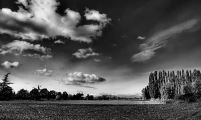 Plowed Fields Photograph - Mount Vernon Washington by David Patterson