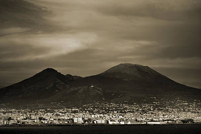 Photograph - Mount Vesuvius 2012 Ad by Terence Davis