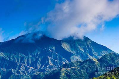 Photograph - Mount Wai'ale'ale  by Ronald Lutz