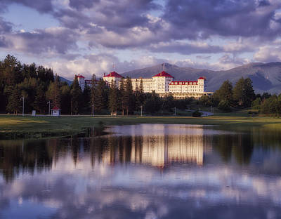 Mount Washington Hotel Art Print