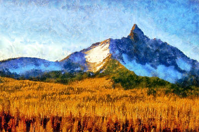 Digital Art - Mount Washington by Kaylee Mason