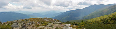 Photograph - Mount Washington Nh Panorama by Toby McGuire