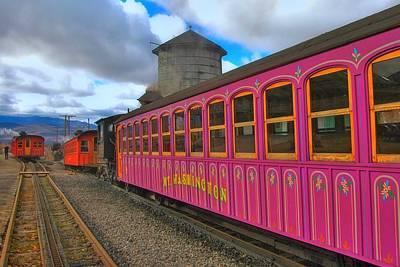 Photograph - Mount Washington Railway by Joann Vitali