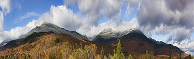 Photograph - Mount Washington With Autumn Snow by Gregory Scott